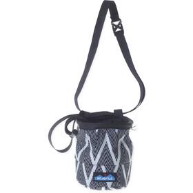 KAVU Peak Seeker Chalk Bag black zig zag